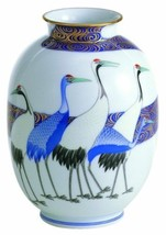 Koransha porcelain flower vase Cnane Korin a bland new from japan - $697.92