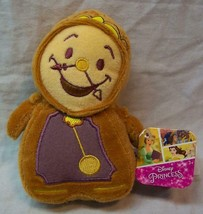"Disney Beauty And The Beast Cute Cogsworth Clock 5"" Plush Stuffed Animal Toy New - $14.85"
