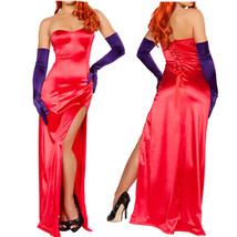 Jessica Party Cocktail Dress Thigh Slit Split Bodycon Club Flare Long Maxi Skirt - $21.59