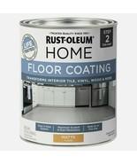 Rust-Oleum Home FLOOR COATING 1 qt. Tile Vinyl Wood MATTE CLEAR Paint 35... - $26.99