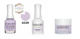 Kiara Sky Trio Set Gel 0.5 oz & Lacquer 0.5 oz & Dip 1 oz 539 Lilac Lolie - $26.99