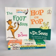 Lot Of 6 Dr Seuss Hardcover Books 2 Book Club Edition Beginner Bright & ... - $14.80