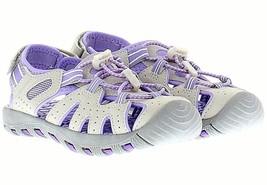 Brand New Khombu Kids Athletic Active Girls Purple Sandals