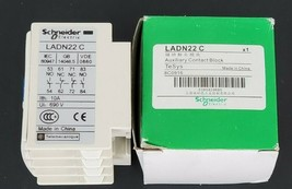 NIB SCHNEIDER ELECTRIC LADN22C AUXILIARY CONTACT image 2