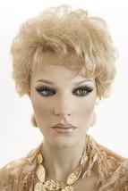 Butterscotch And Champagne Blonde  Short Jon Renau Wavy Curly Wigs - $113.10