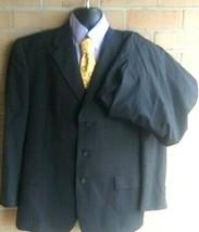 Tommy Hilfiger Men's 44R 3 Button pinstripe Suit - $44.55
