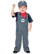 Fun World Train Engineer Conductor Toddler Boys Halloween Costume 114891 - $21.88