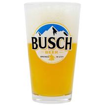 Busch Beer Pint Glass Clear - £16.00 GBP