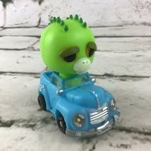 Feisty Pets Reckless Racers Extinct Eddie Figure In Toy Car Jazwares 2019 - $11.88