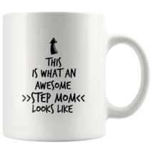Coffee mug gift What an awesome STEP MOM mug - $16.50