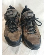 MENS SIZE 8 4E NEW BALANCE 623 BROWN ATHLETIC LEATHER WALKING TENNIS SHOE - $37.05