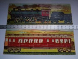 Twilight Express Puzzle Milton Bradley Antique Jigsaw Pieces Box Toy Treasure image 3