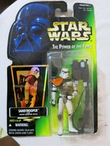 Star Wars Sandtrooper The Power of the Force Action Figure Heavy Sand Bl... - $9.90