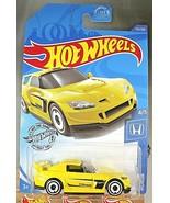 2020 Hot Wheels #153 Honda 4/5 HONDA S2000 Yellow w/White AD Spoke Wheels - $6.75