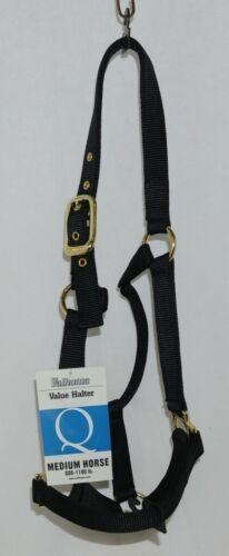 Valhoma 811QBK Black Medium Horse Halter Eight to Eleven Hundred Pounds