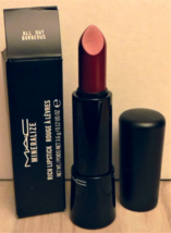 MAC Mineralize Rich Lipstick ALL OUT GORGEOUS Boxed New Gloss Balm - $25.00