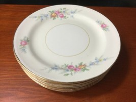 "10 Georgian Eggshell Cashmere Bread Plates 6"" Homer Laughlin - $24.75"