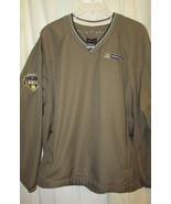 Nike Golf HD Supply waterworks Golf Windbreaker Jacket Pullover L  - $16.99
