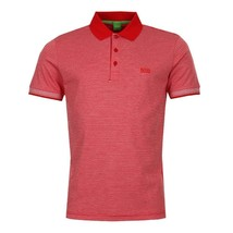 Hugo Boss Men's Luxury Cotton Polo Shirt T-shirt Regular Fit Paddos 50369736 610