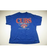 1993 VTG 90's MLB Chicago Cubs Baseball Men's T-shirt Size Large Made in... - $22.72