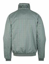 Bench UK Mens Gray Plaid Gaze Zip Up Winter Jacket with Fleece Lining NWT image 2