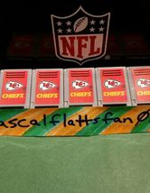 NFL TEENYMATES KANAS CITY CHIEFS LOCKER RARE LIMITED!!! NONE ON EBAY!!! 2015 image 5