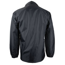 Renegade Men's Lightweight Water Resistant Button Up Windbreaker Coach Jacket image 3