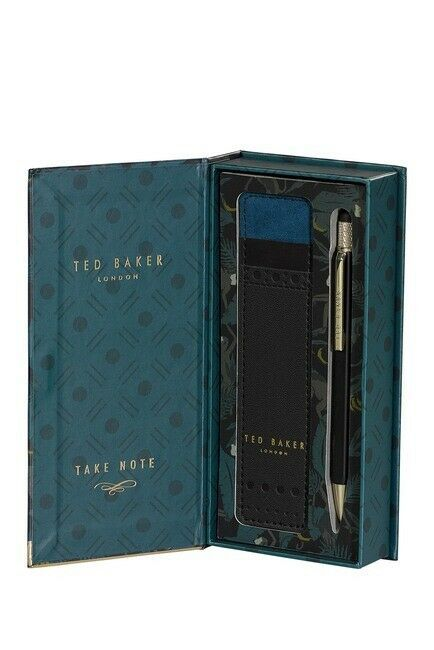 Primary image for Ted Baker London Touch Screen Pen Ink Black Brogue Monkian Pouch Gift Box Stylus