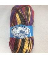 Himalayas Yarn Queensland Collection 100% Wool 2 Pink Purple Yellow 100 ... - $7.60