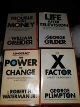 Lot of 4 The Larger Agenda Series Books hardback - $9.99