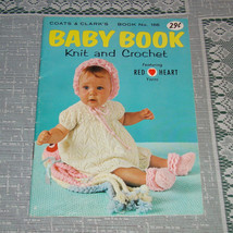 Vintage Baby Book of  Knit and Crochet Pattern ... - $1.25