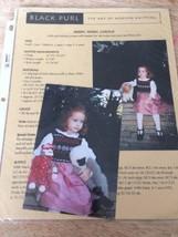 Black Purl Knitting Pattern Merry Merry Carolie FairIsle Jumper Bodice P... - $7.70