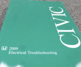 2009 Honda Civic Models Electrical Troubleshooting Manual Ewd Etm - $24.70