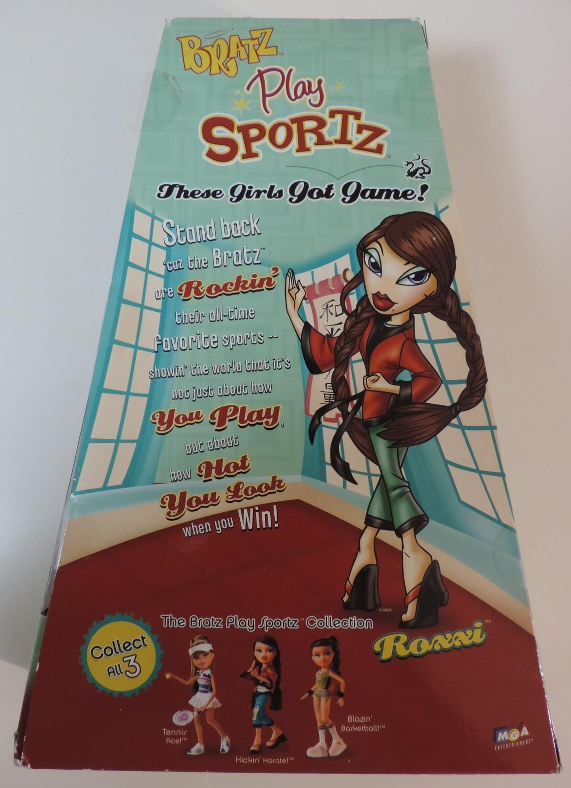 Bratz Play Sportz Kickin' Karate Roxxi doll ( Barbie Monster High Liv ) - New