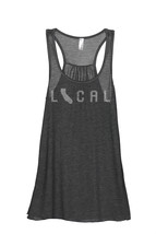 Thread Tank Local California State Women's Sleeveless Flowy Racerback Ta... - $24.99+
