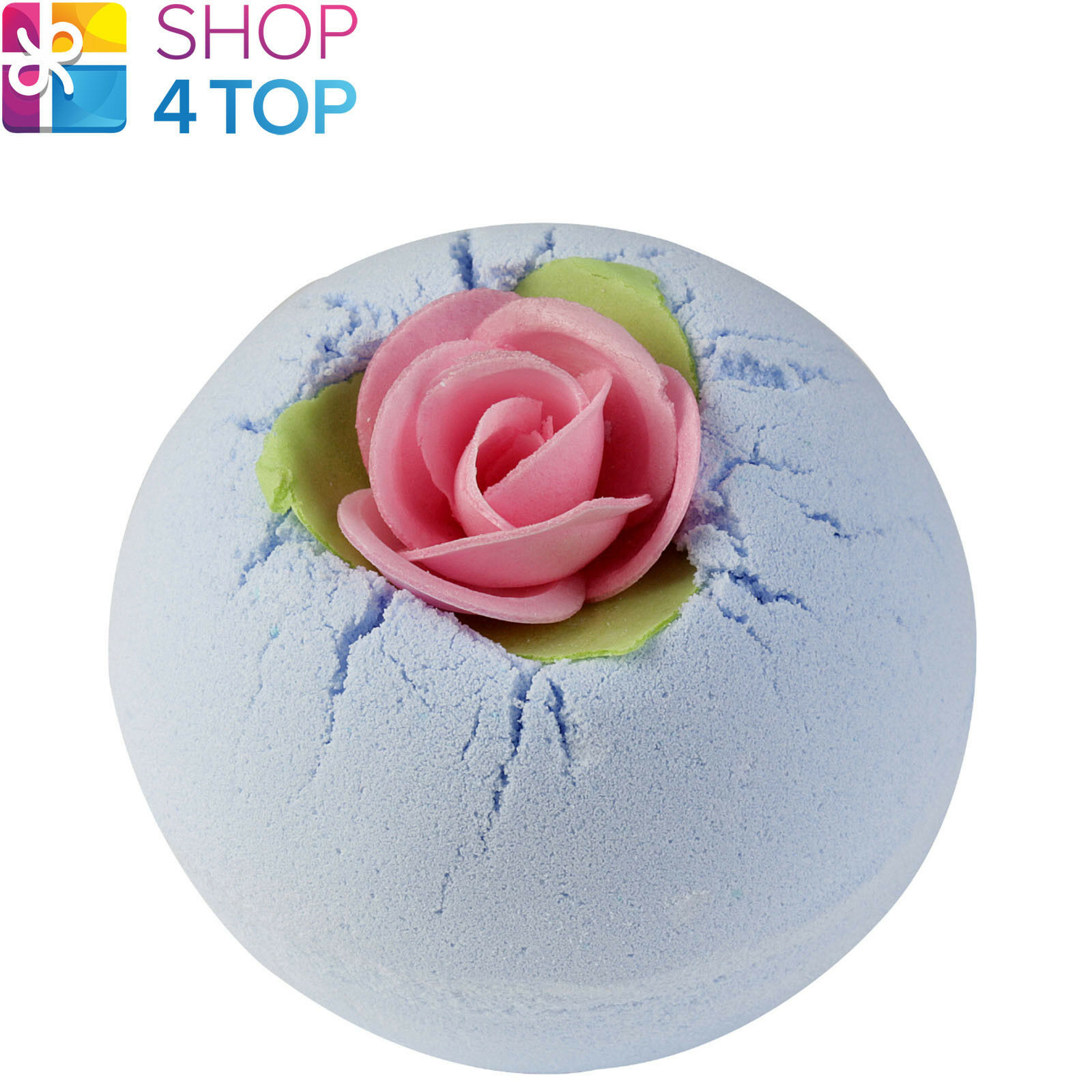 Primary image for PORCELAIN PEONY BATH BLASTER BOMB COSMETICS MUSKY ROSE HANDMADE NATURAL NEW