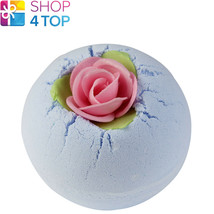 PORCELAIN PEONY BATH BLASTER BOMB COSMETICS MUSKY ROSE HANDMADE NATURAL NEW - $5.54