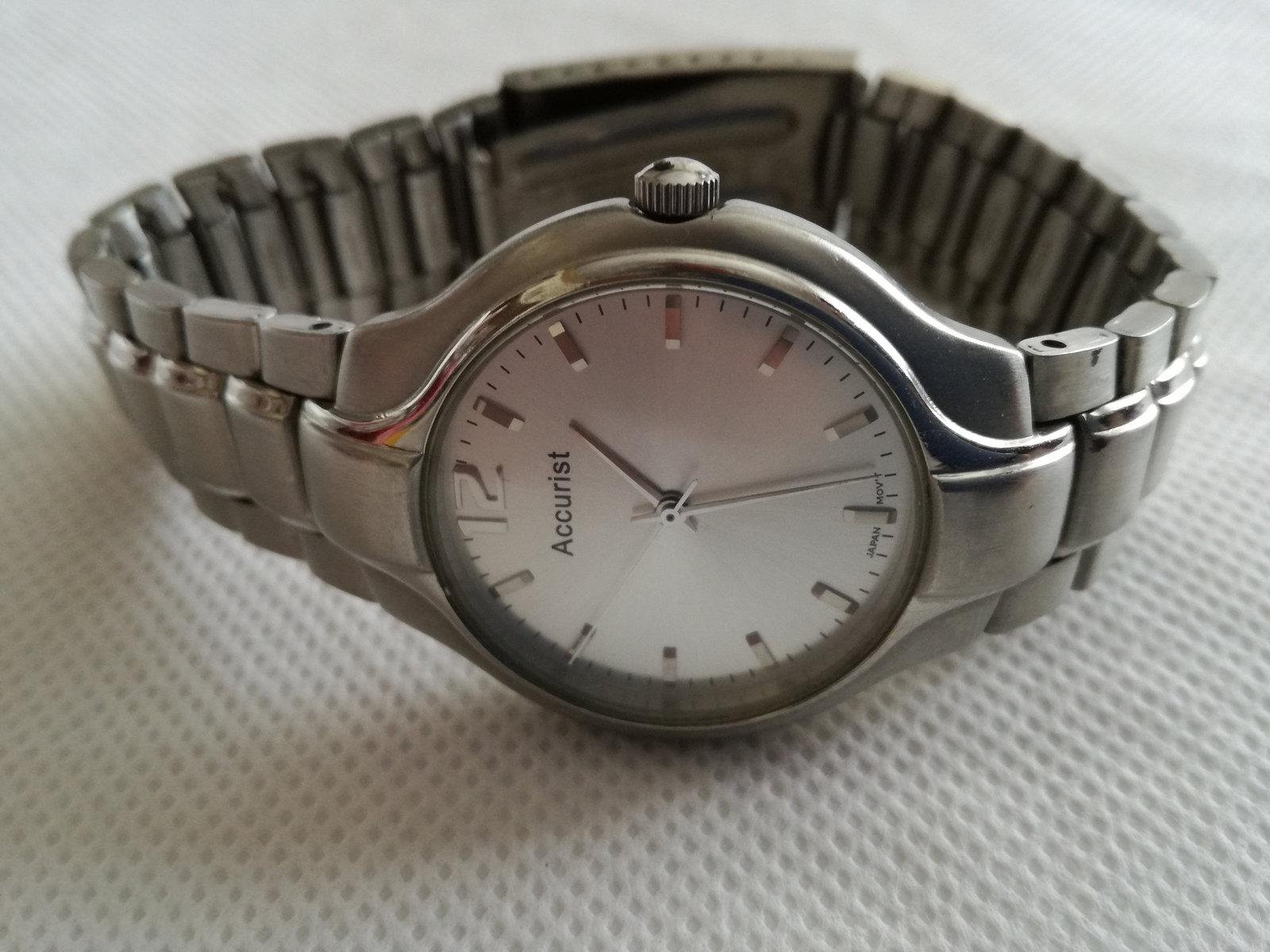 vintage watch / gift for him / vintage wrist watch / vintage  Accurist Watch / w image 6