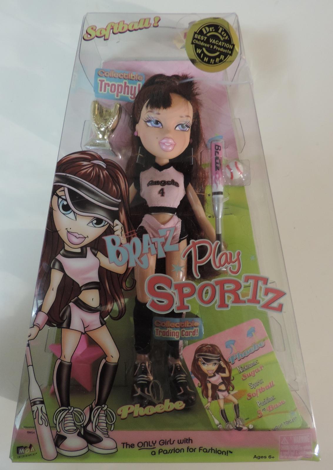 Bratz Play Sportz Softball Phoebe doll ( Monster High Barbie Liv ) - New - $50.00