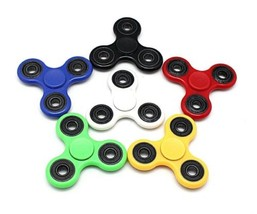 Fidget Hand Spinner Reduce Stress - One Item w/Random Color and Design