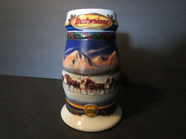"""2000 Budweiser Holiday Stein - """"Holiday in the Mountains"""" - $17.00"""