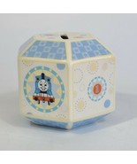 Thomas The Train Characters Gullane Collectors Hexagon Porcelain 60th Bank - $34.64