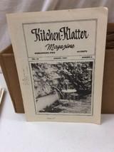 Vintage Kitchen Klatter Magazine local Recipes Shenandoah Iowa August 1980 - $9.99