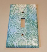 Ombré Paisley Light Switch Plate Cover wall home decor Bedroom Bathroom ... - $8.24