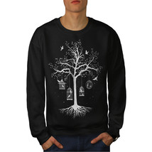 Fantastic Cage Tree Jumper Bird Dream Men Sweatshirt - $18.99+
