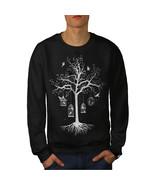 Fantastic Cage Tree Jumper Bird Dream Men Sweatshirt - $18.99 - $22.99