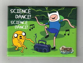 Adventure Time Finn and Jake Science Dance! Refrigerator Magnet, NEW UNUSED - $3.99