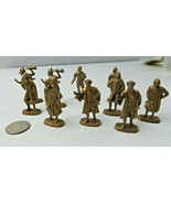 Vintage French Collection of Flat Figurines Samuel Champlain by Maison d... - $18.00