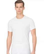 Calvin Klein Men's 100% Cotton Slim-Fit Crew-Neck T-Shirt, Medium - $19.79