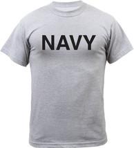 Grey Navy Physical Training PT Workout T-Shirt - $10.99+